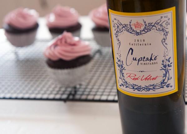 cupcake-chocolade-wijn