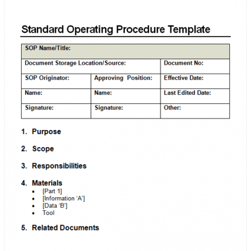 Doc575709 Writing a Manual Template Employee Manual Template – Manual Format Template