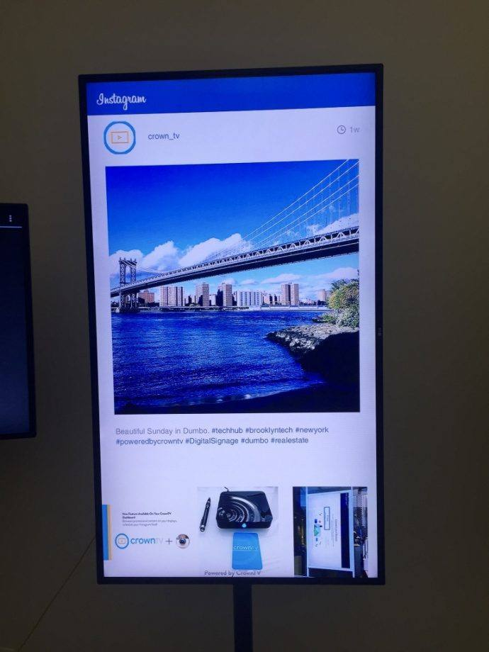 crowntv-digital-signage-instagram
