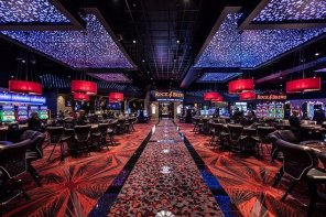 Projects: LA's San Manuel Casino Adds Fractured Ceilings, Elvis Rings