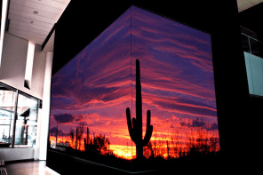 ASU's New Law Center Adds Three Very Different Video Walls