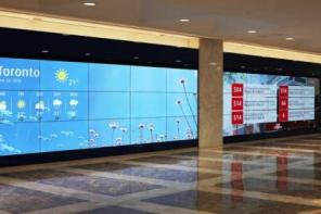 Video: BMO's 200 Years Marked On Interactive Timeline Video Wall In Toronto