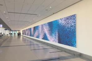 2,000 Sq. Ft. Of Gorgeous Visualized Data About To Go Live At Charlotte, NC's Airport