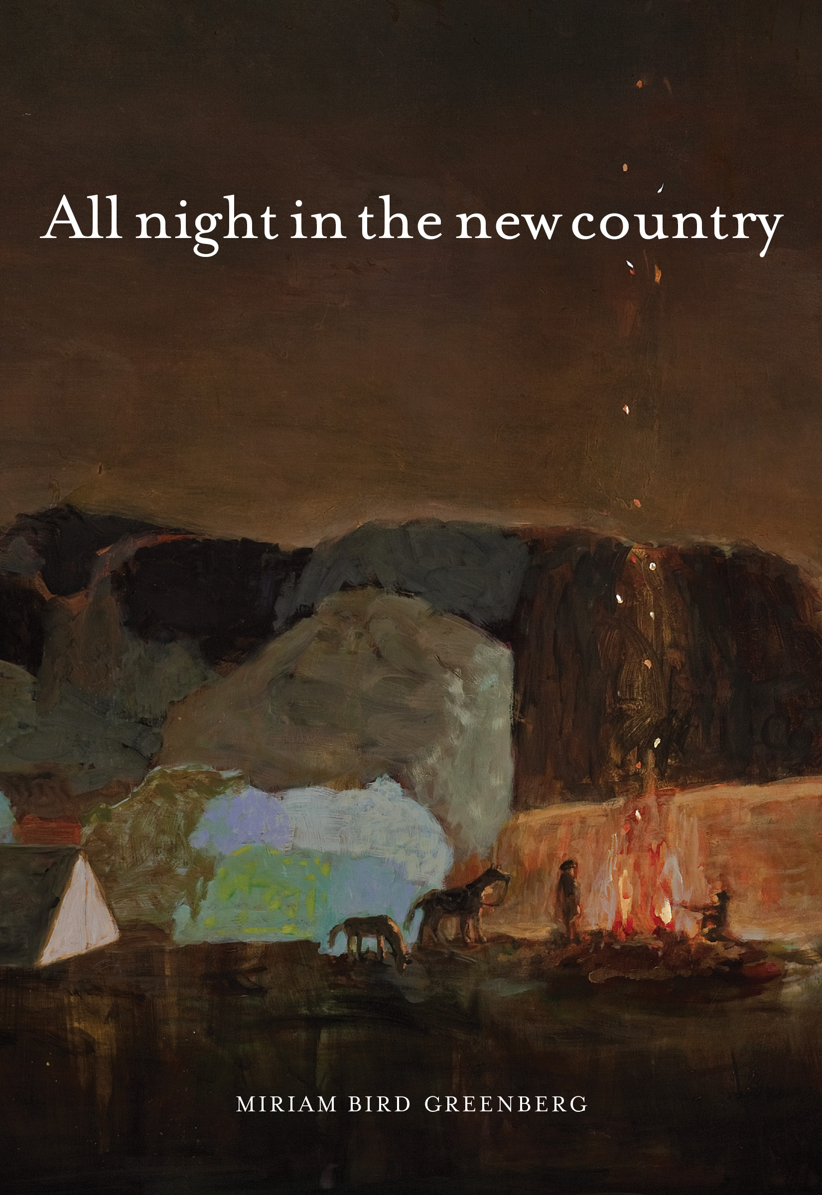 Book Review: 'All Night In The New Country' By Miriam Bird Greenberg | #Poetry #WomenWriters | BL | Black Lion Journal | Black Lion