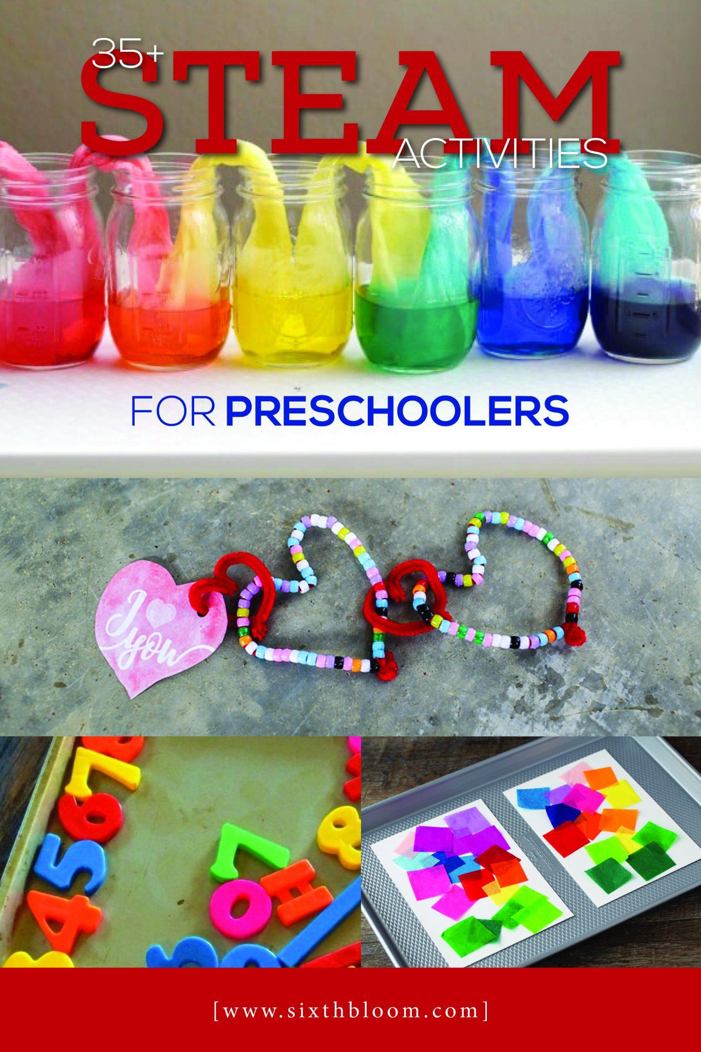 35 Steam Activities For Preschoolers