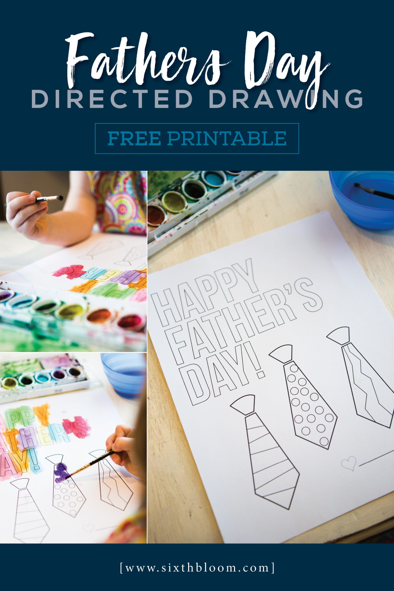 Fathers Day Directed Drawing