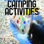 outdoor camping activities for kids