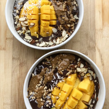 Chocolate Acai Bowls