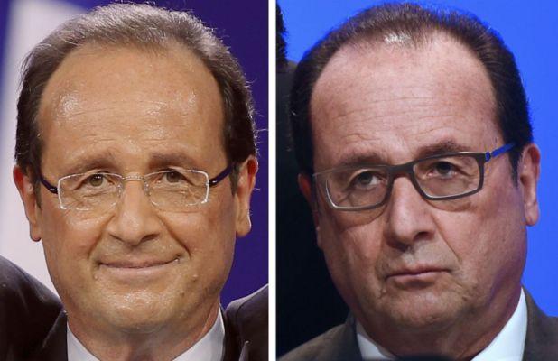 Montage photo (Benoit Tessier / Reuters + POOL New / Reuters)