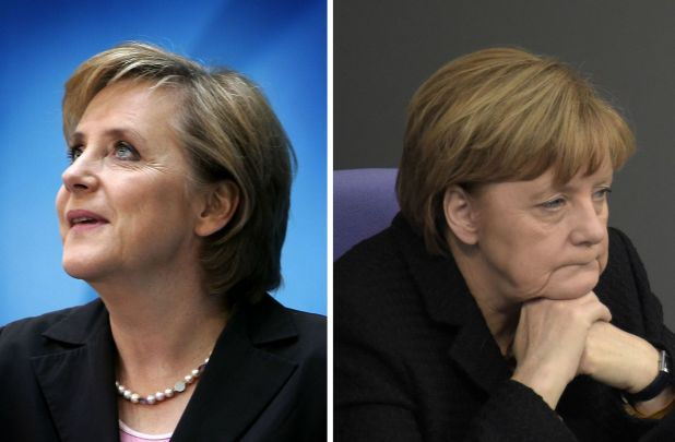 Montage photo (Reuters Photographer + AFP / ODD ANDERSEN)