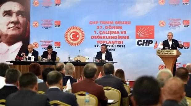 CHP'de yönetmelik tartışmaları sürüyor
