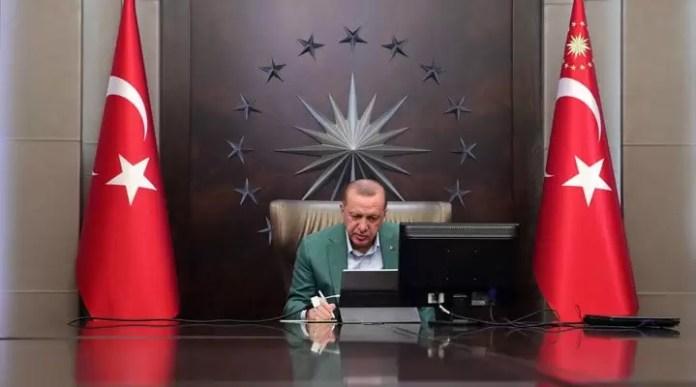 Erdoğan'dan okul tatili ve uzaktan eğitim açıklaması 1