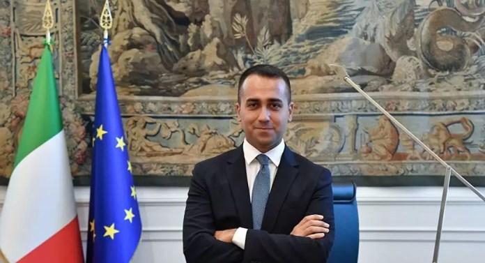 İtalya Dışişleri Bakanı Di Maio