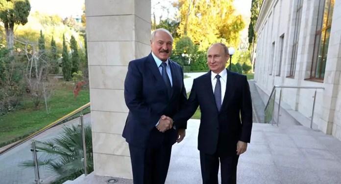 Putin Lukaşenko