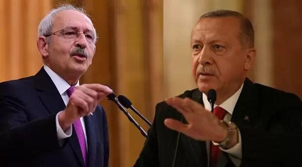 Tayyip Erdoğan Kemal Kılıçdaroğlu