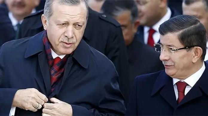 Ahmet Davutoğlu Recep Tayyip Erdoğan