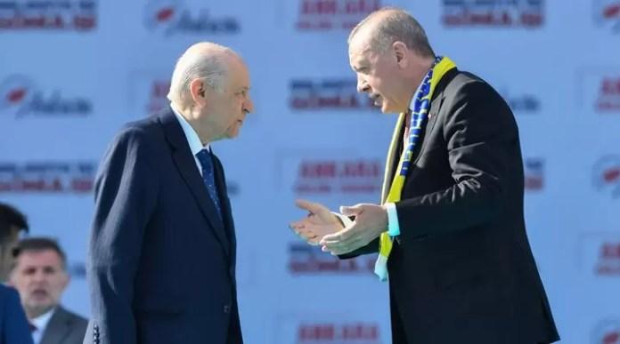 Recep Tayyip Erdoğan Devlet Bahçeli