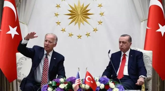 Biden Tayyip Erdoğan