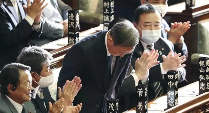 Japonya Başbakan Suga