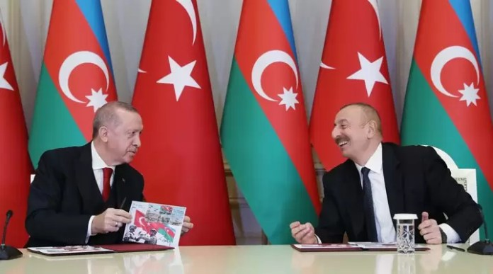 İlham Aliyev Recep Tayyip Erdoğan