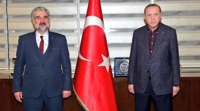 Recep Tayyip Erdoğan Osman Nuri Kabaktep