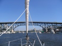Approaching Granville Bridge