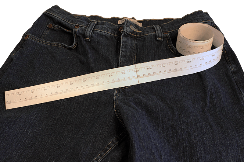 graphic relating to Printable Tape Measure for Body referred to as Measuring Without having a Fabric Measuring Tape - SizeCharter