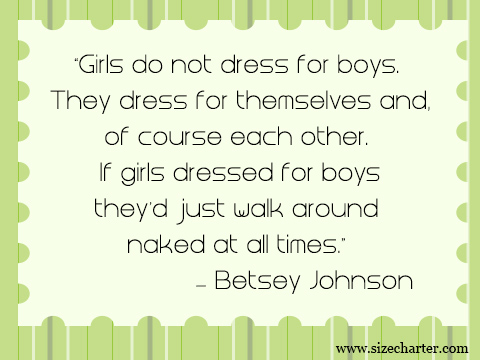 betsey johnson quote