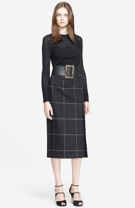 midi length Escada skirt