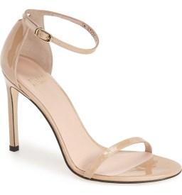 Weitzman Nudistsong Ankle Strap Sandal