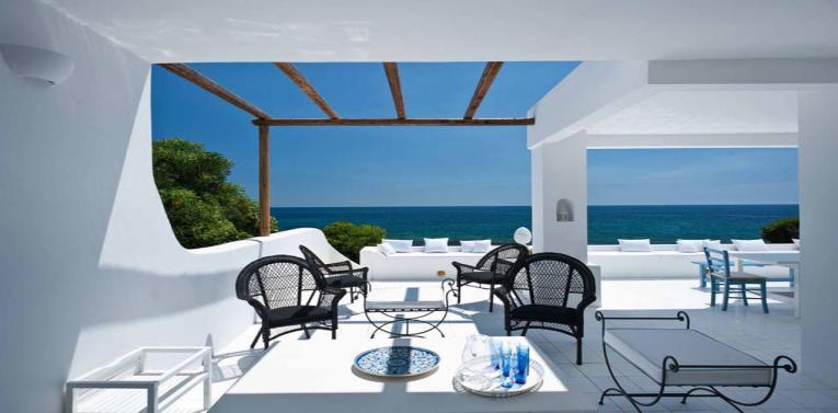 Ferienhaus mit Meeresblickterrasse