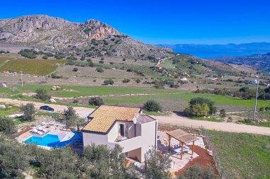 Bkick auf Villa Monte e Mare