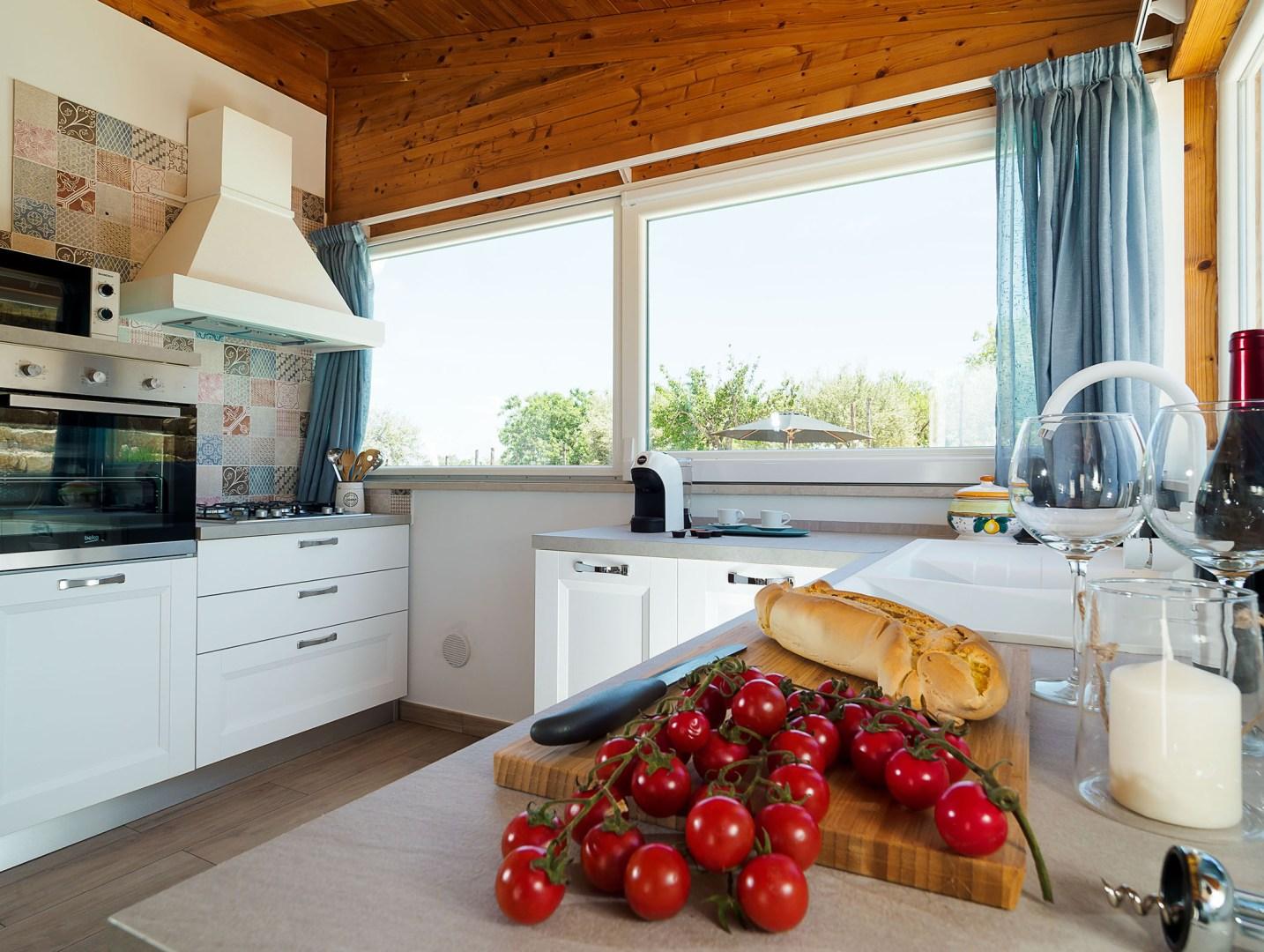 Sizilien Villa Küche