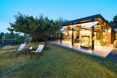 Fitness Area Villa Sizilien