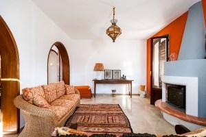 Wohnzimmer Villa am Strand Sizilien