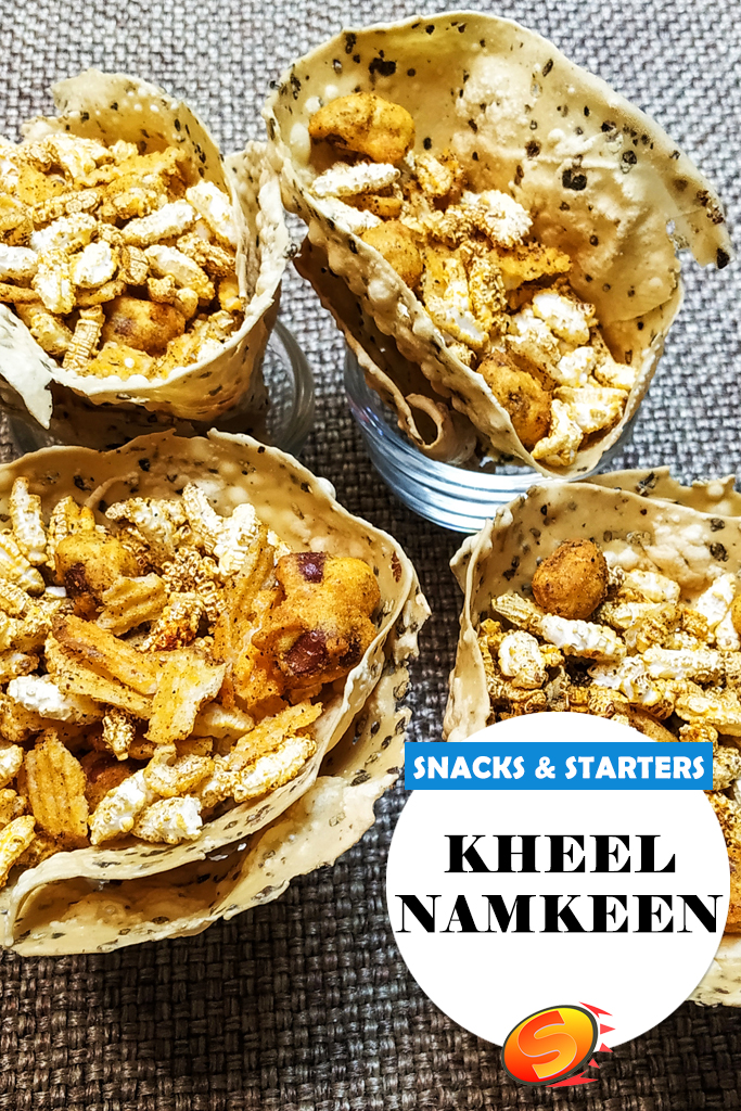 Kheel Namkeen Recipe | (Crunchy + Delish ) | Salted Parched Paddy