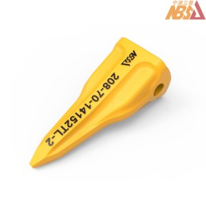 208-70-14152TL-2 OEM PC400 Komatsu Bucket Excavator Tiger Tooth