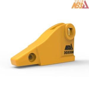 3G5358, 3G-5358 Caterpillar J350 Two Strap Adapter Corner Left Hand Bolt-on