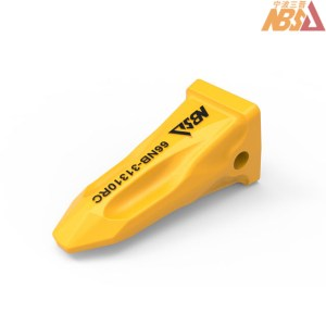 66NB-31310RC Hyundai Drp Excavator Spare Parts R500 R450 Bucket Teeth