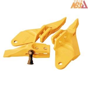 53103205, 53103208, 53103209, JCB Style Center Teeth Sidecutter Bolt Nut