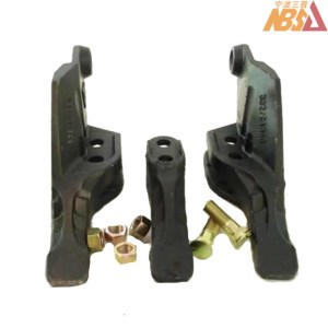 JCB Tooth Adapter Side Cutter 332-C4388, 332-C4389, 332-C4390