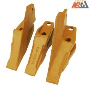 IMP-122-14 Kubota Excavator Teeth Kit Set