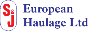 S & J European Haulage Logo