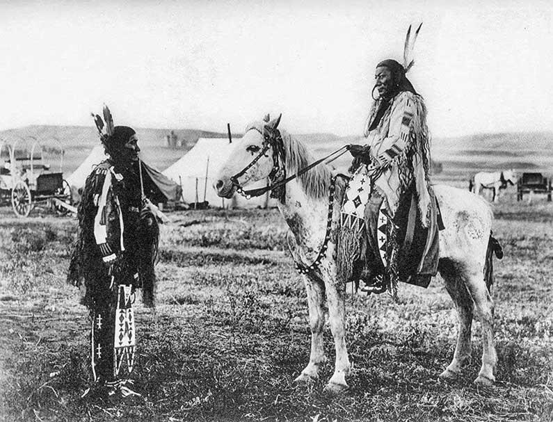 The spirit of Crazy Horse is nog altijd aanroepbaar bruikbaar bij spiritueel werk