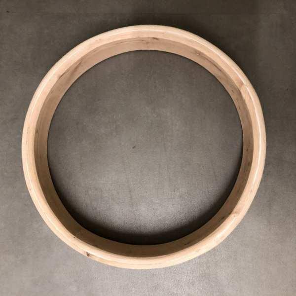 zicht op de binnenkant van de extra dikke drum frame