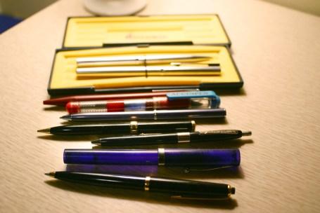 Beautiful pens and pencils