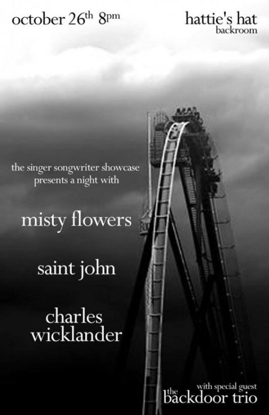 Saint John and the Revelations at Hatties Hat Oct 26