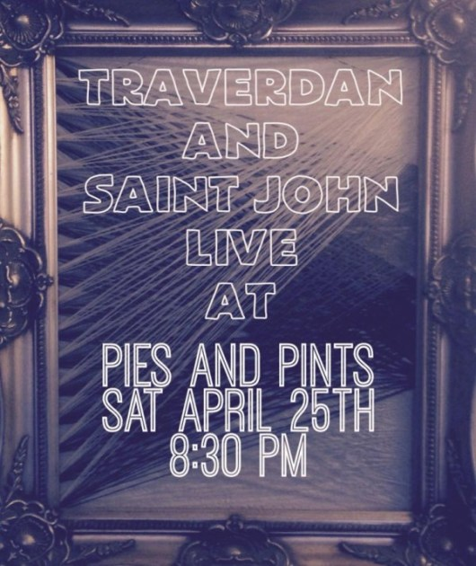 Saint John at Pies and Pints April 25
