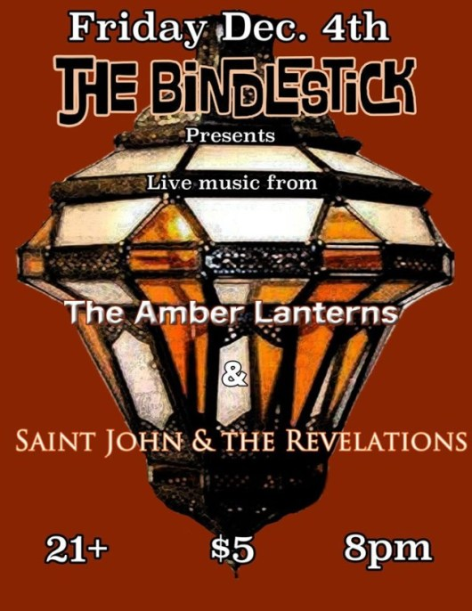 Saint John and the Revelations live at Bindlestick