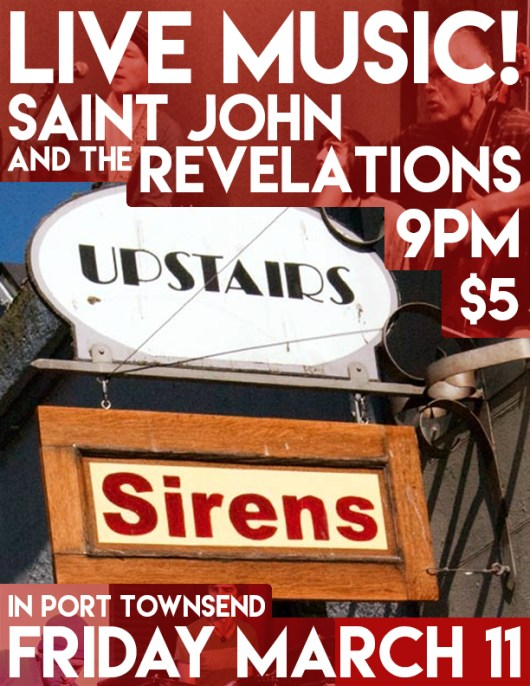 Saint John and the Revelations live at Sirens